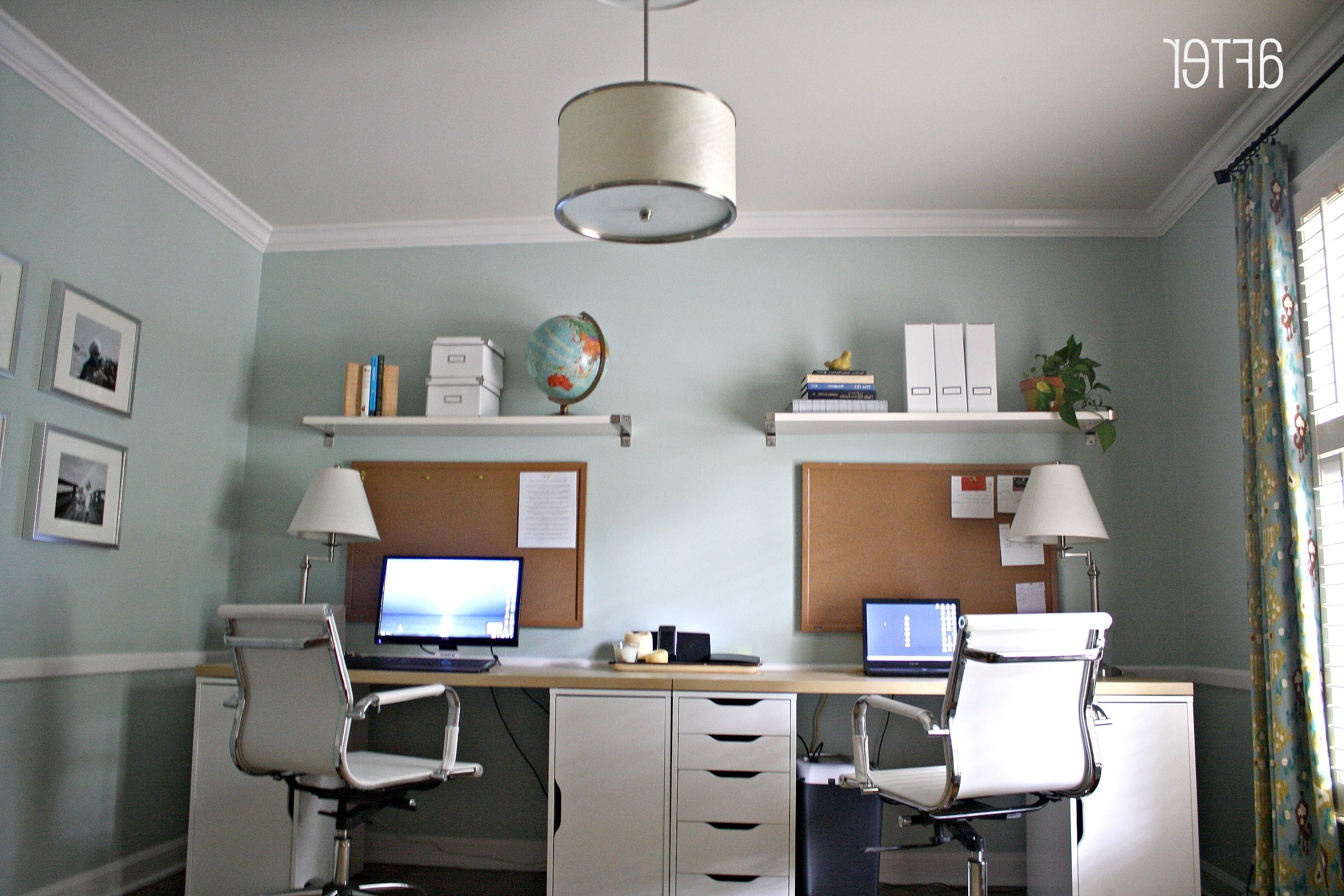 Home Office Home Office Corner Desk 2 Person H Home Design | Houzz .