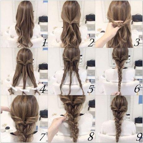 Einfache Haarzopfe Einfache Haarzopfe Zopf Lange Haare Lange Haare Frisur Hochgesteckt