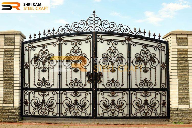 Wrought Iron Main Gates, Modern Iron Gates Design for Home ...