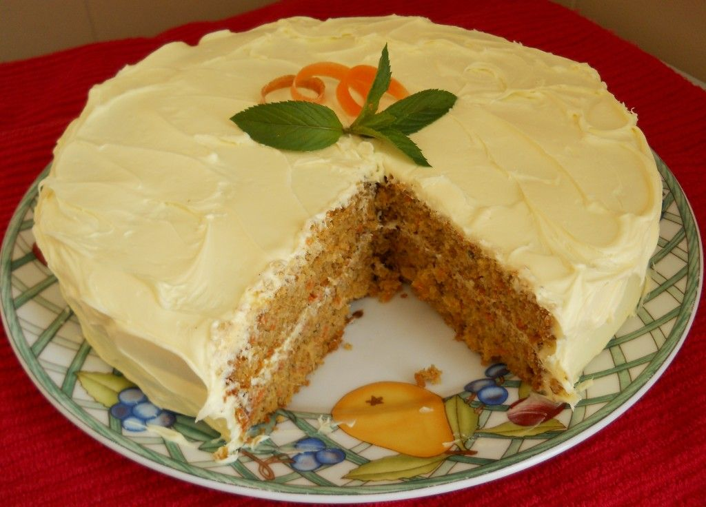 egg free carrot cake cupcakes