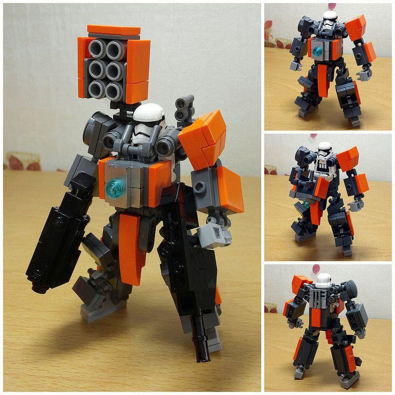 lego mech by hora | Lego, Legos and Lego mecha