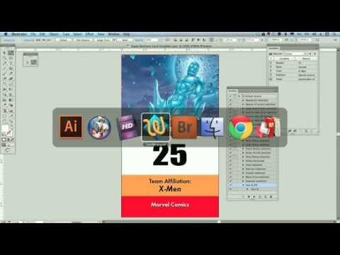 How To Use Adobe Illustrator Variable Data Illustration Adobe Indesign Adobe Illustrator
