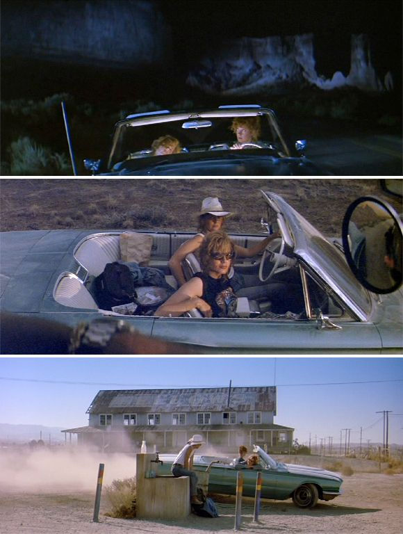 Thelma & Louise wedding inspiration board