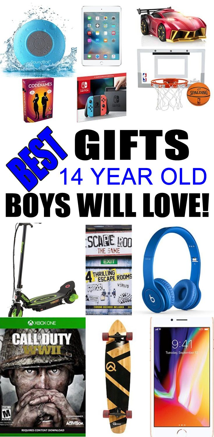 Top Gifts For 14 Year Old Boys Best Suggestions Presents A Fourteenth Birthday Christmas Or Just Because Find The