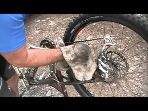 how to clean your mtb chain