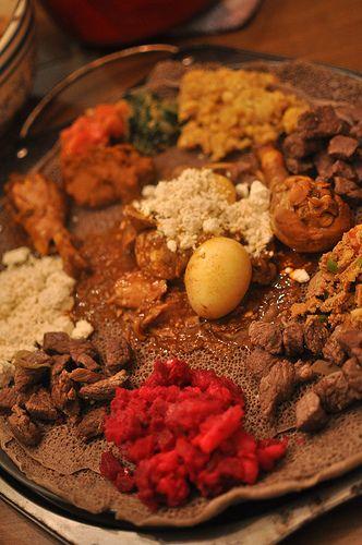 Lentil Sambusas.  Plus Recipes for:  Timatim Firfir, Key Sir, Kik Alicha, Gomen, Ayib