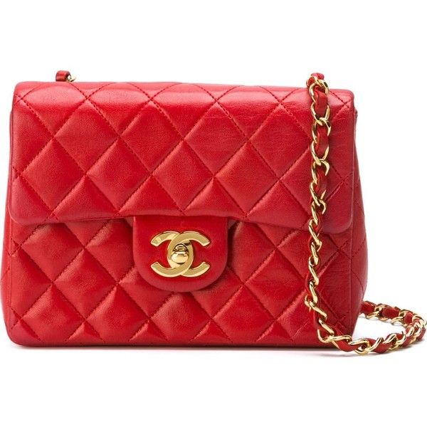 Chanel Vintage Mini 2 55 Shoulder Bag 3 465 Liked On Polyvore Featuring Bags