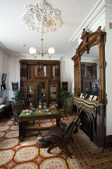 George W Fulton Constructed A Second Empire Style Mansion In Rockport Texas Usa Where It Overlooks Aransas Bay Gulf Of Mexi Mansions Empire Style Interior