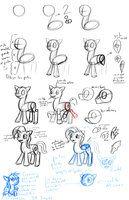 Tutorial Para Dibujar Ponys by Xonjad