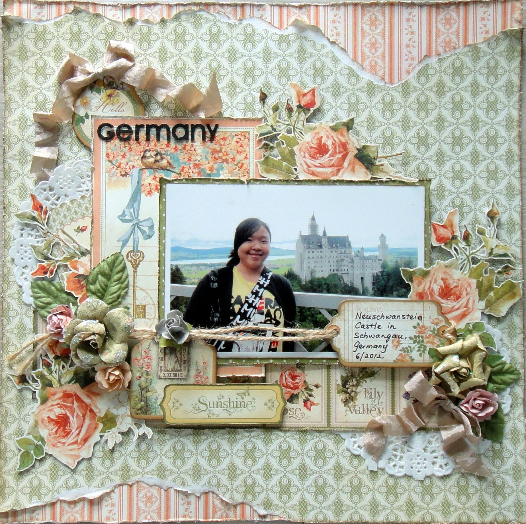 Hello Germany - Graphic 45 - Secret Garden Collection http://scrappychic-pages.blogspot.sg/2013/03/hello-germany.html