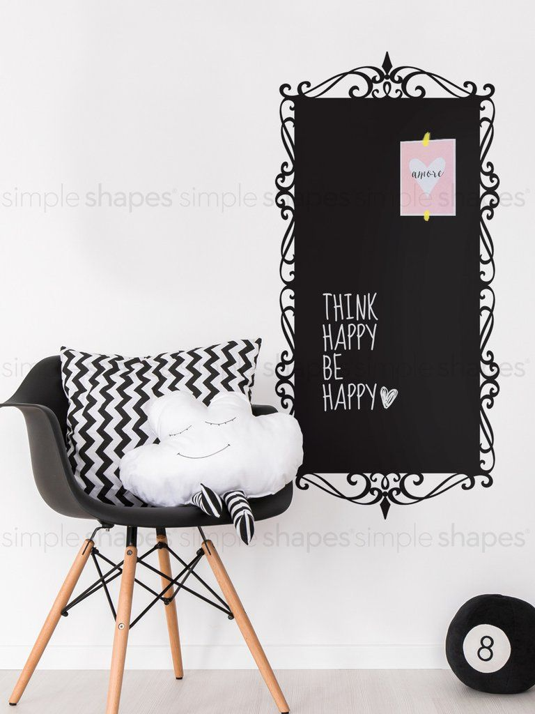 Decorative Chalkboard Wall Decal Vinyls The Ojays And Products - Wall decals you can write on