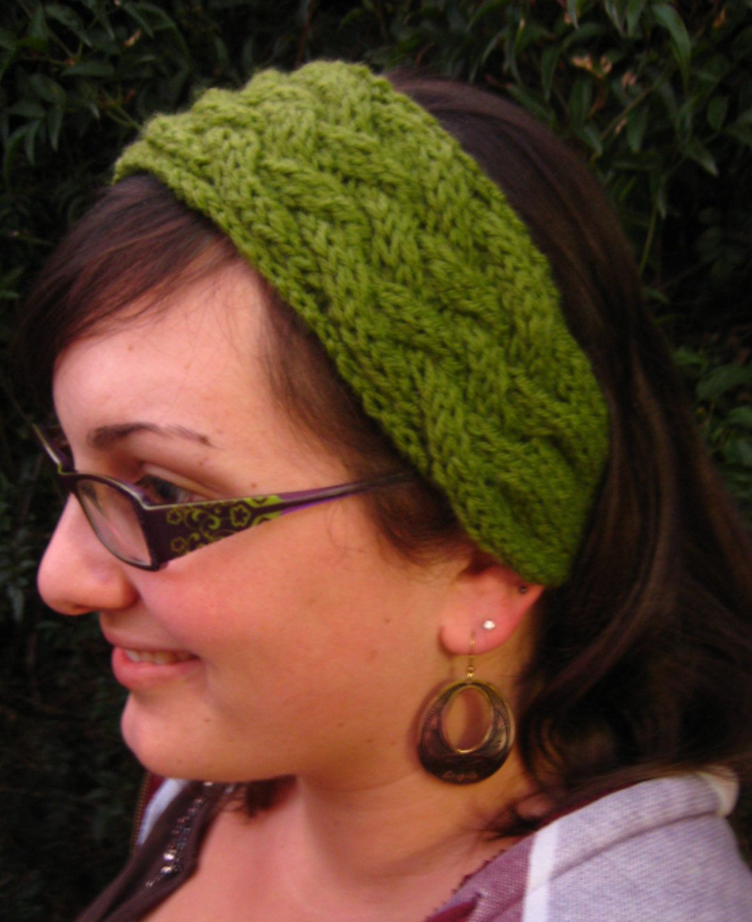 Free Knitting Pattern for Criss Cross Cable Headband - Mari Doroud\'s ...