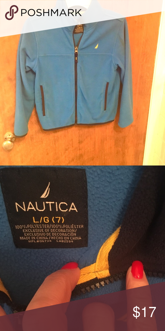 80598b8dc Nautica Boys size 7 Fleece Jacket Nautica Boys 7 fleece jacket ...