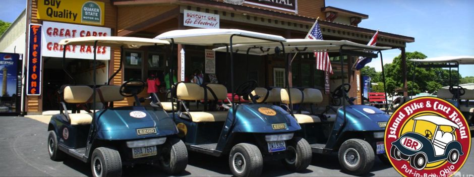 Island bike cart rental putinbay golf cart rentals