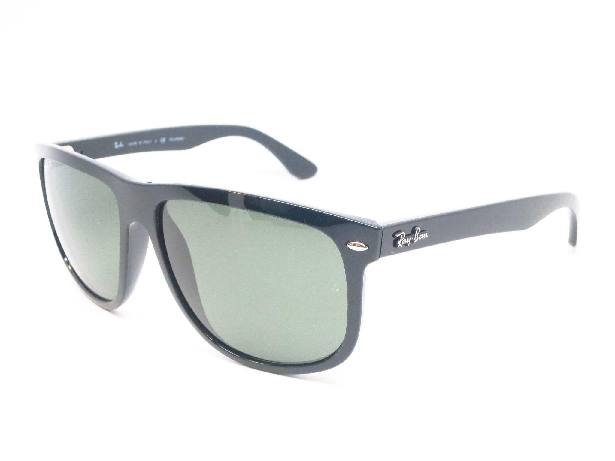 a1b7a7dd26 Ray-Ban RB 4147 601 58 Black Polarized Sunglasses