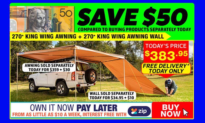 Adventure Kings 270° King Wing Awning + 270° King Wing