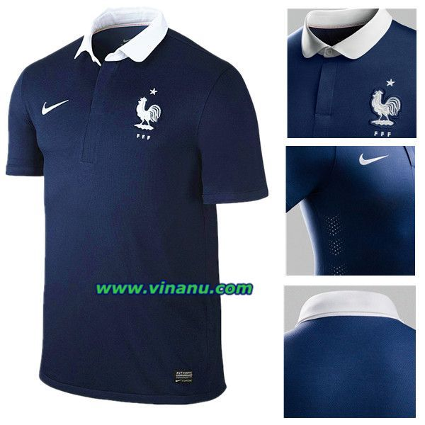 France Home Kit 2014 World Cup France National Football Team France Soccer Jersey Fifa World Cup France