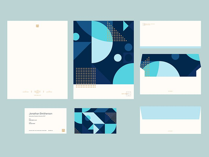IMM Brand Stationery | Stationery, Letterhead and Corporate identity