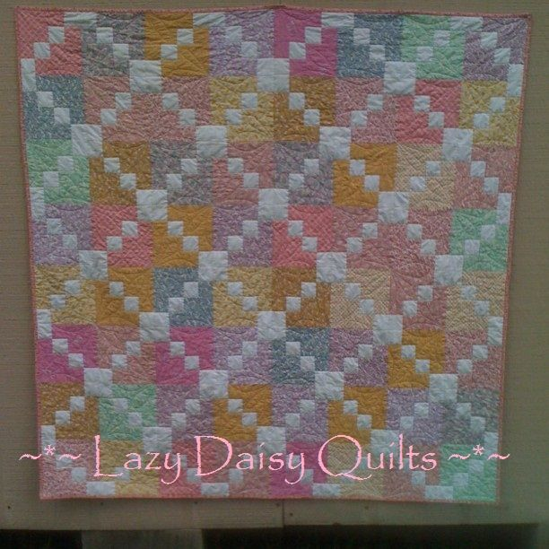 triple irish chain quilt pattern | ... Chain, which I am not sure ... : daisy chain quilt pattern - Adamdwight.com