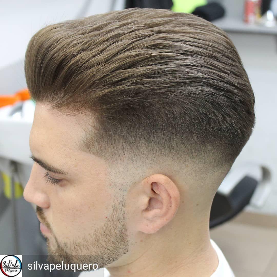 Silvapeluquero Hairstyle By Silvapeluquero Batalla Desvanecido Officialbarbercl Estilos De Cabello Hombres Cabello Para Hombres Estilos De Cabello Hombre