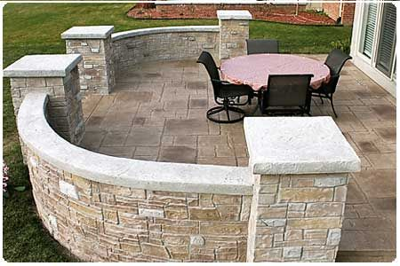 Stamped Concrete Patios Clinton Township, MI Biondo Cement