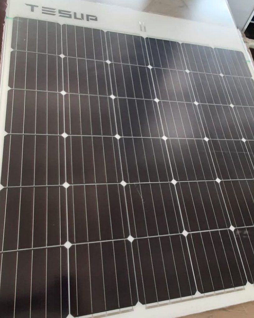 Good Morning Today S Flexible Solar Panel Manufacturing Process Is Started Tesup Flexiblesolarpanel Solarpanel In 2020 Solar Panels Flexible Solar Panels Solar