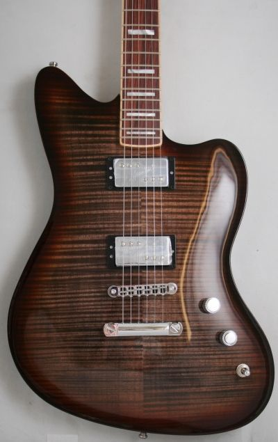 Fender Select Carved Maple Top Jazzmaster HH (Twilight Burst)