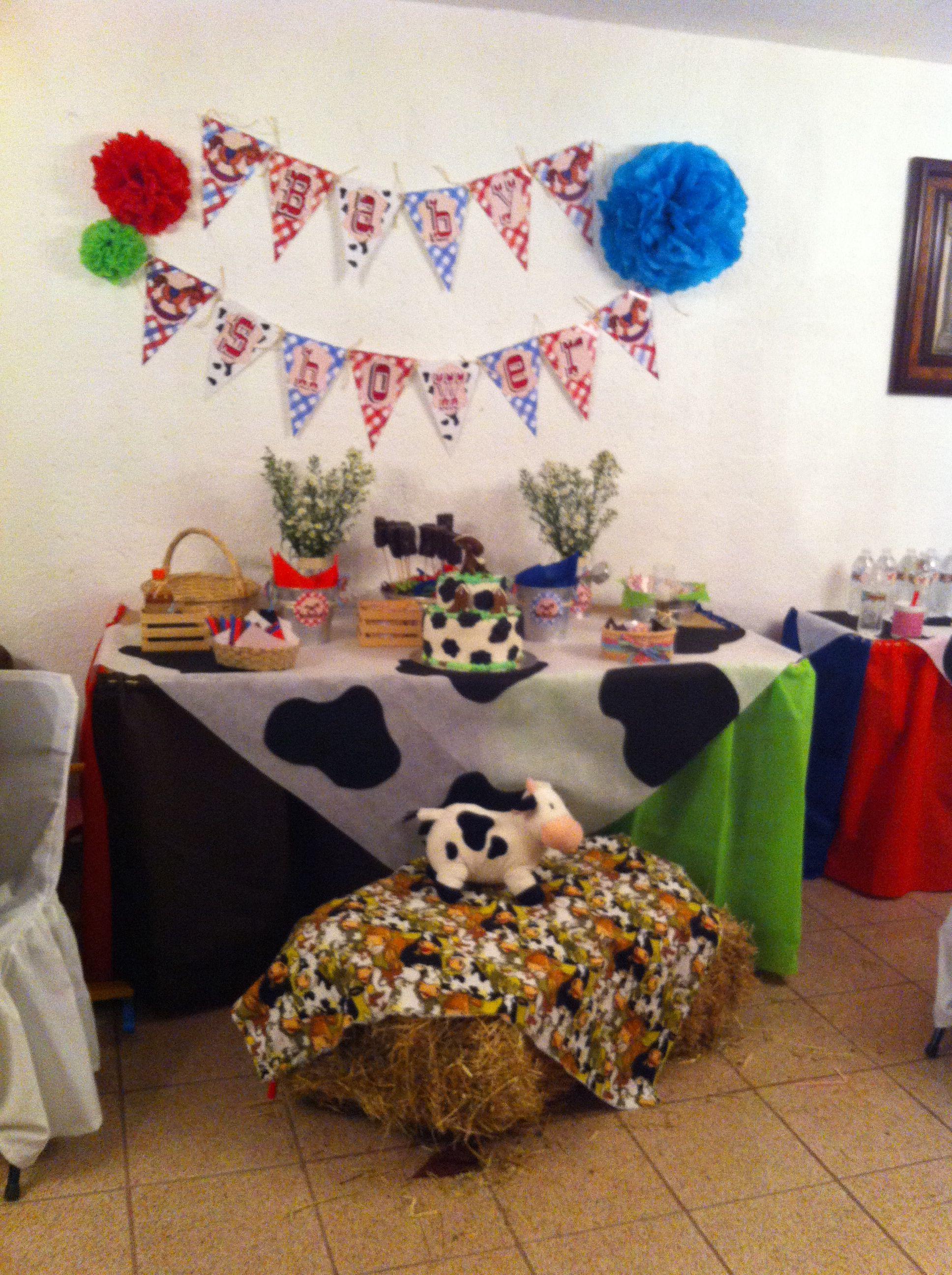 Mesa de dulces ranchero