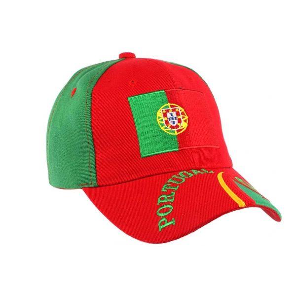 Casquette Portugal Equipe de Football  #casquette #euro2016 #bonplan sur votre boutique Hatshowroom.com