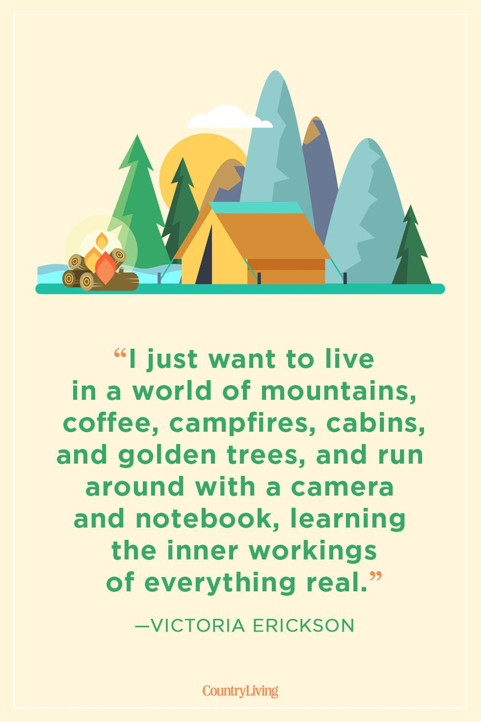 39 Camping Quotes That'll Get You Pumped for Your Next