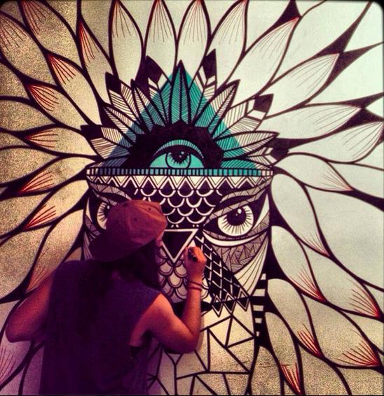 Flor de Pamphilis - Pampi @POSCA Coloring Coloring #lion | art ...