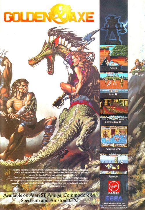 Golden Axe promo | Concept Art & Illustration | Video game