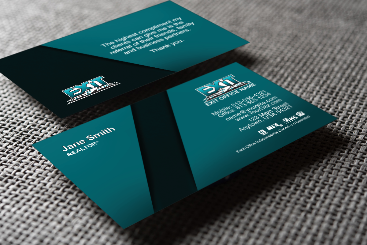 Have You Seen Our New Exit Realty Cards Realtor Exitrealty Realestate Realtors Realty Realtorlife Agent Buye Exit Realty Realty Business Cards Online
