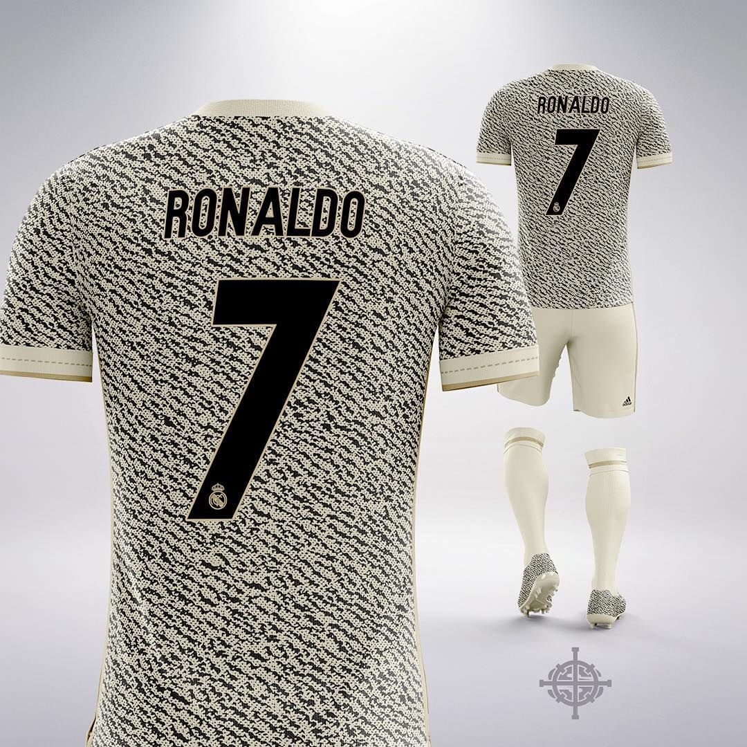 4168a212c38 Real Madrid Yeezy Concept Kit Revealed - Footy Headlines