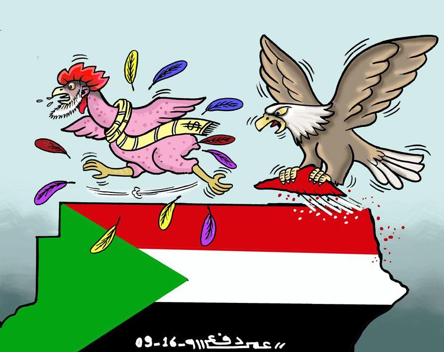 كاركاتير اليوم الموافق 05 سبتمبر 2016 للفنان  عمر دفع الله عن حلايب