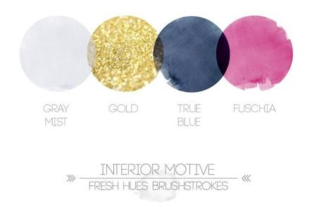 Beautiful palette of colours to style your interior with! #colour #inspire