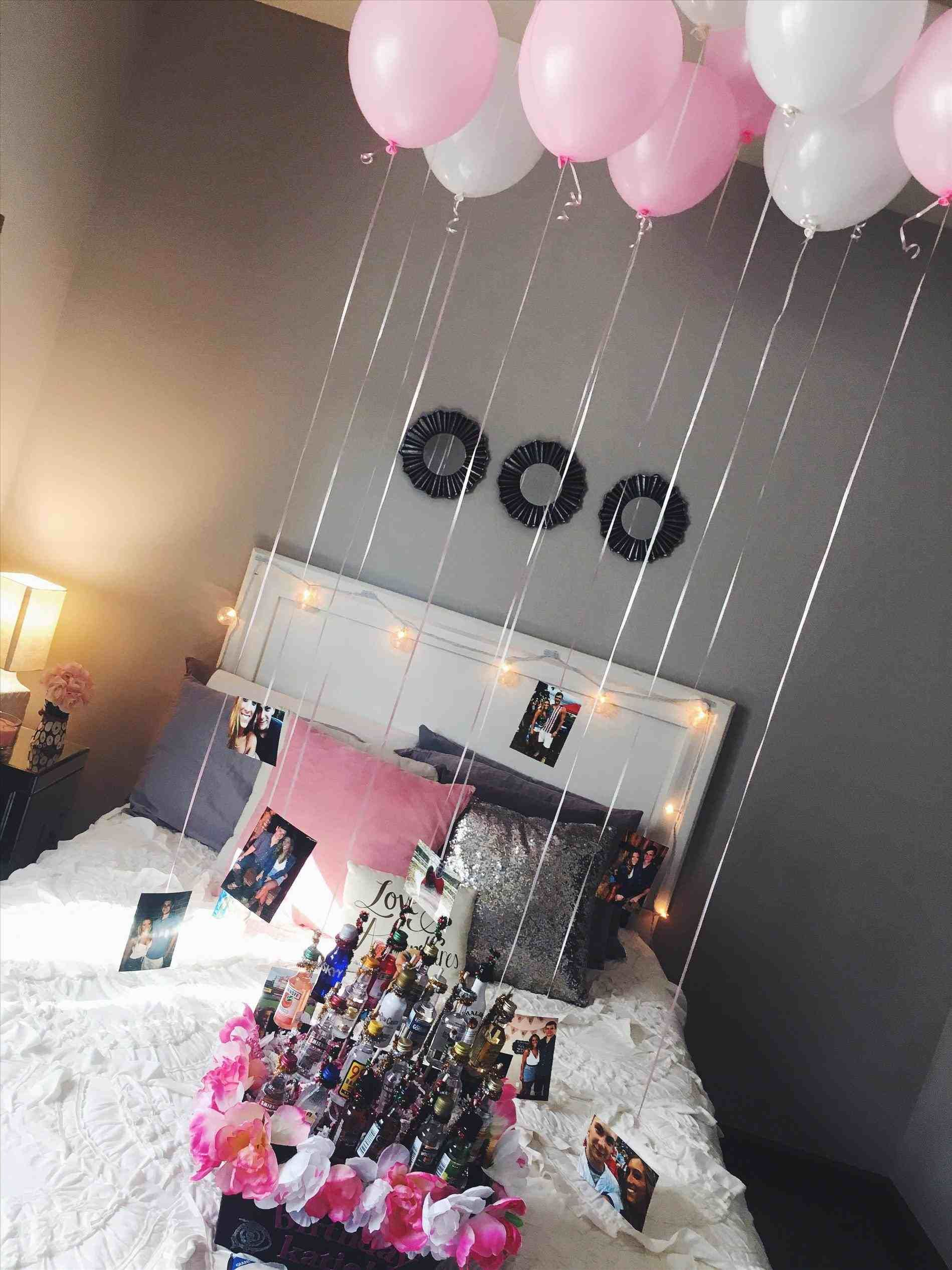 Birthday Room Decoration Design Birthday Room Decorations 21st