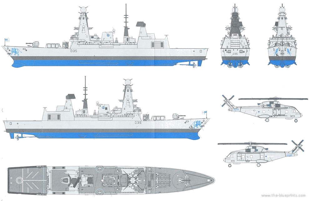 how to draw a navy destroyer