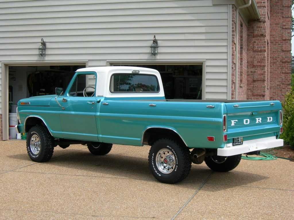 68 ford f100 classic cars pinterest 4x4 and ford. Black Bedroom Furniture Sets. Home Design Ideas
