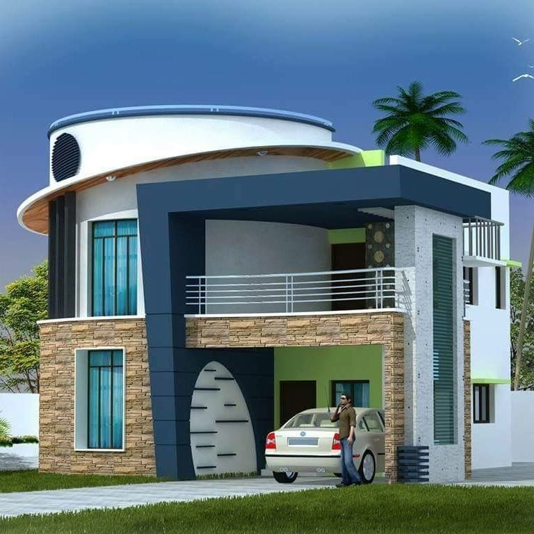 Glory Architecture 25x50 House Elevation Islamabad: Pin By PALADUGU RAVI On Buildings