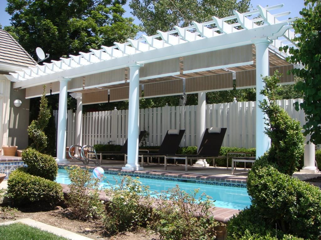 11 best low maintenance fiberglass pergola kits and designs images