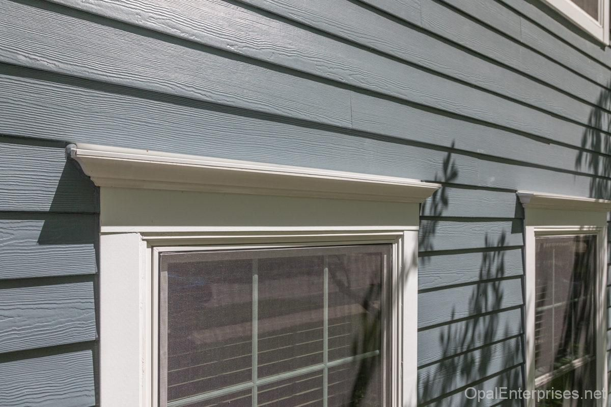 New Window Headers And Trim Opal Home Renovations In Naperville In 2019 Home Renovation