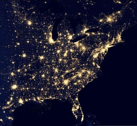 Interactive earth at night geography education geography interactive earth at night maps wow compare new england to southern africa where i visited crazy gumiabroncs Images