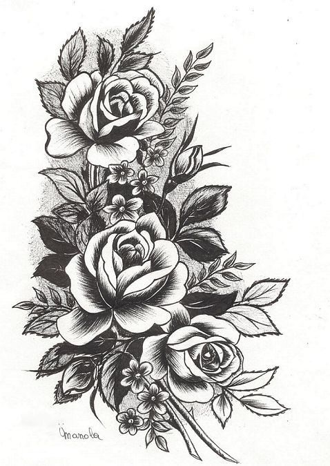 Flower Ink Tat Pinterest Tatuajes Ideas De Tatuajes Y Dibujo