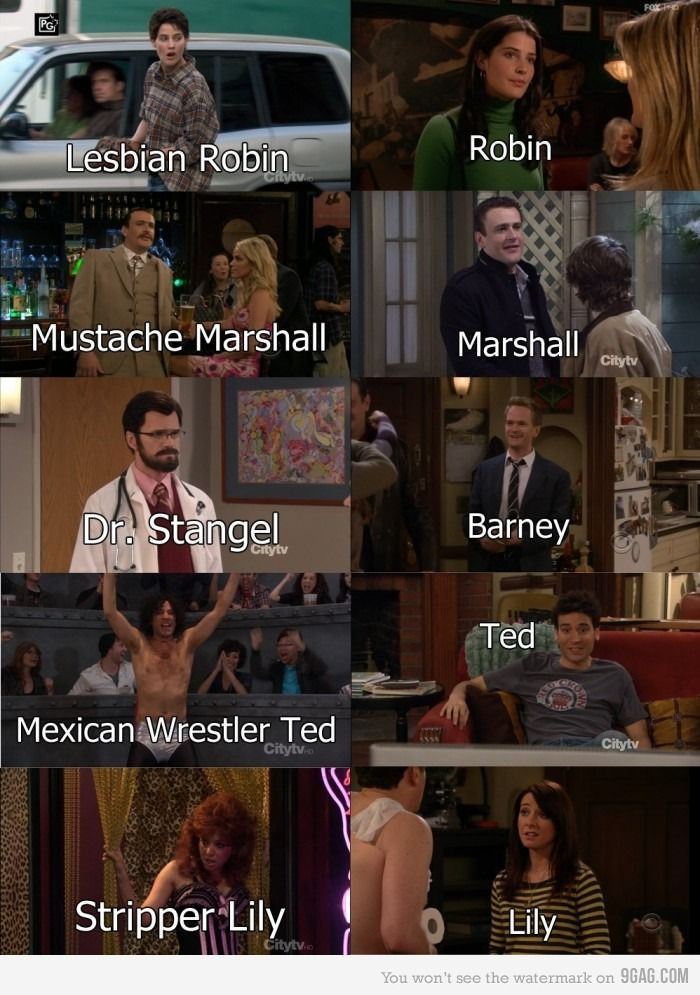 How I Met Your Mother Doppelganger Lol Memes Chistes Mejores