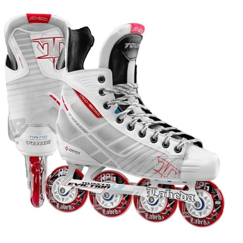 The Tour Hockey Fb 500 Inline Skate Has The Best Value Combined With A High End New Look Feel And Genuine Labeda R Roller Hockey Skates Inline Hockey Roller