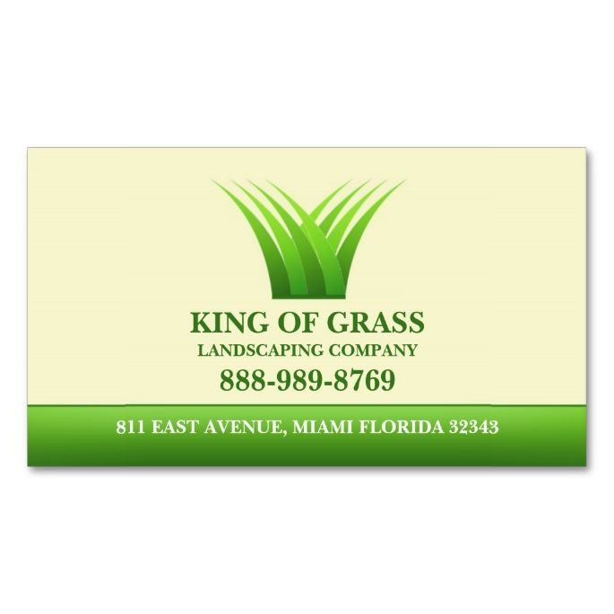 Lawn Care Grass Logo Business card | Pinterest | Lawn care, Lawn and ...