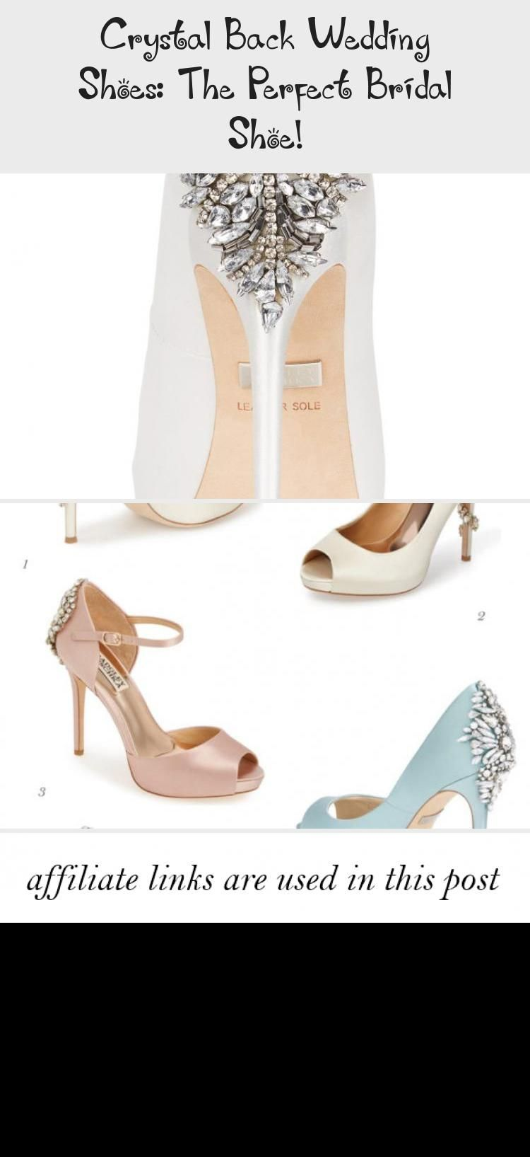 Crystal Back Wedding Shoes: The Perfect Bridal Shoe! - Clothing