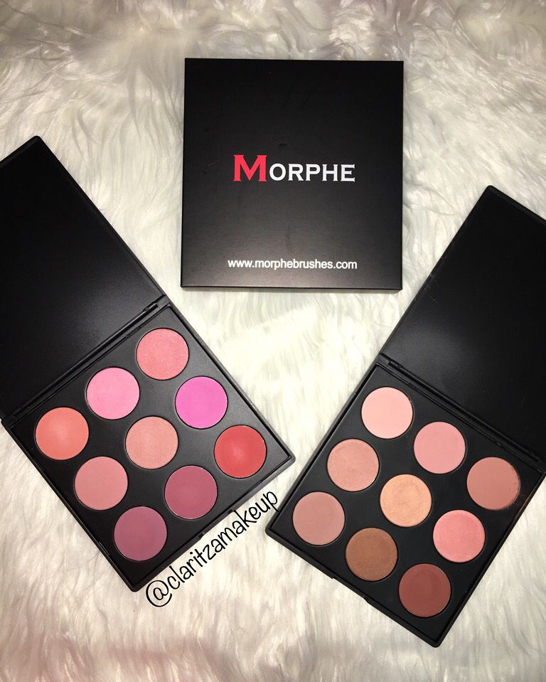 Morphe 9b And 9n Blush Palettes These Palettes Are Amazing