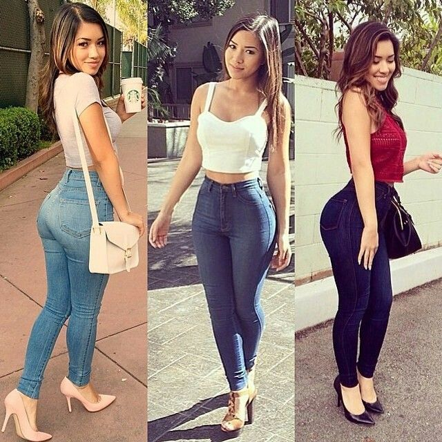Curvy girl skinny 3 Ways